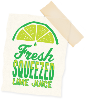 Fresh squeezed lime juice