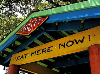 Chuy's Eat Here Now